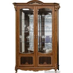 Шкаф с витриной Альба 5 П 485.05
