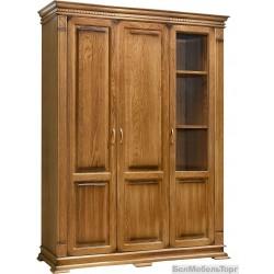 Шкаф «Верди Люкс 3» П487.44 дуб