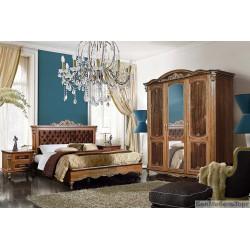 Спальня «Альба» 2  палисандр с золочением