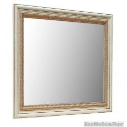 Зеркало настенное «Альба 13» П 524.13  слоновая кость с золочением