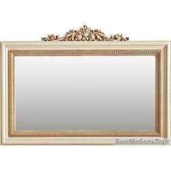 Зеркало настенное «Альба 09к» П 485.09к  слоновая кость с золочением