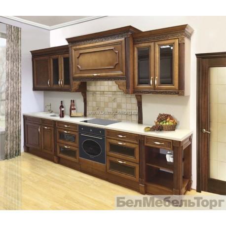Кухня из массива Ольхи Т 314К/113