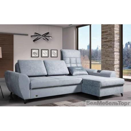 Угловой тканевый диван Bueno