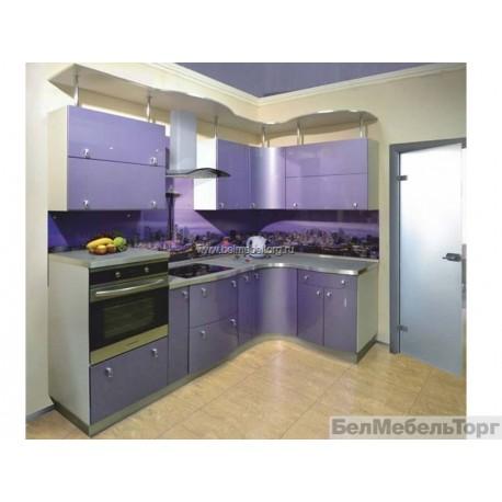 Кухня с фасадом крашеный МДФ RAL 4011