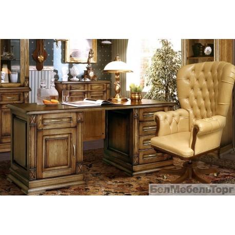 Верди 7 стол письменный П106.12 дуб