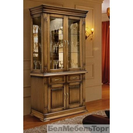 Шкаф комбинированный Верди А2з дуб П1079.19з