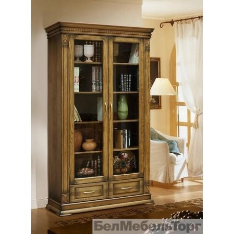 Шкаф для книг Верди А2/1 дуб П1079.27