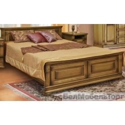 Кровать двойная 18 «Верди Люкс»  П 434.14м дуб