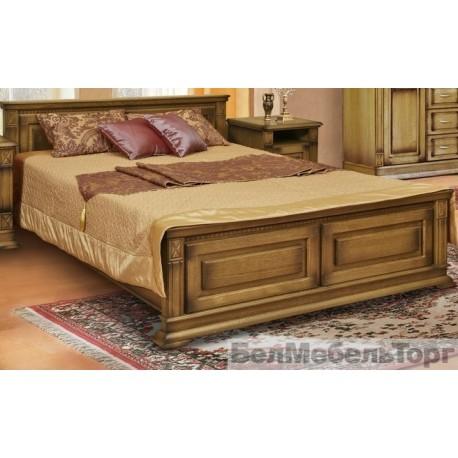 Кровать Верди двойная П 095.14 дуб (1800)
