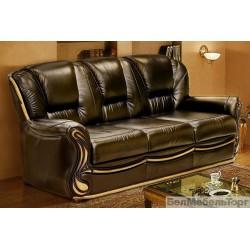 """Трехместный кожаный диван """"Изабель 2"""""""