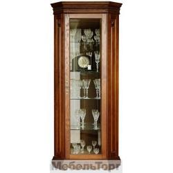 Шкаф с витриной Милана 10 черешня. П265.10