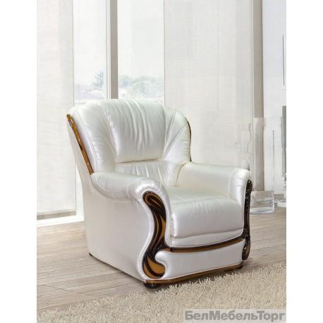 Кресло кожаное Изабель 2