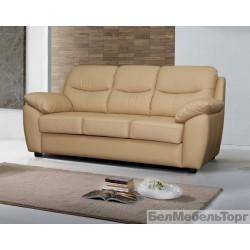 """Трёхместный кожаный диван """"Плаза"""""""