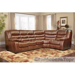 "Угловой комбинированный диван ""Манчестер 1"" 3мL/R.90.1R/L"