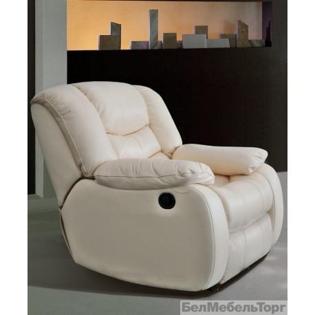 Кожаное кресло Манчестер 1Р
