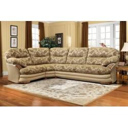 """Угловой тканевый диван """"Йорк"""" 3мL/R.90.1R/L"""