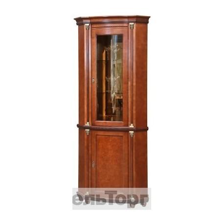 """Шкаф с витриной """"Валенсия 1 Уз"""" П 244.13"""