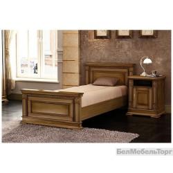 Кровать односпальная (900) «Верди 9» П 095.05м дуб
