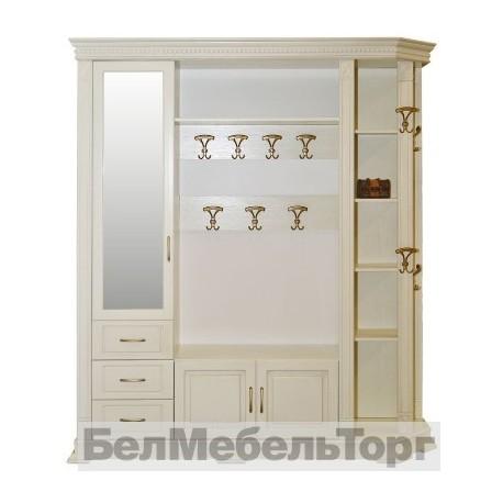 """Шкаф комбинированный для прихожей """"Верди 2"""" П 410.02 с/к"""