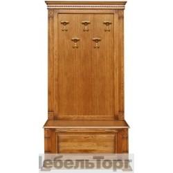 """Вешалка П 433.06 от набора мебели для прихожей """"Верди Люкс"""" дуб"""