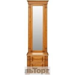 "Трюмо П 433.08Z от набора мебели для прихожей ""Верди Люкс"" дуб"