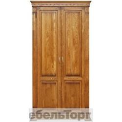 """Шкаф для одежды П 433.10 от набора мебели для прихожей """"Верди Люкс» дуб"""