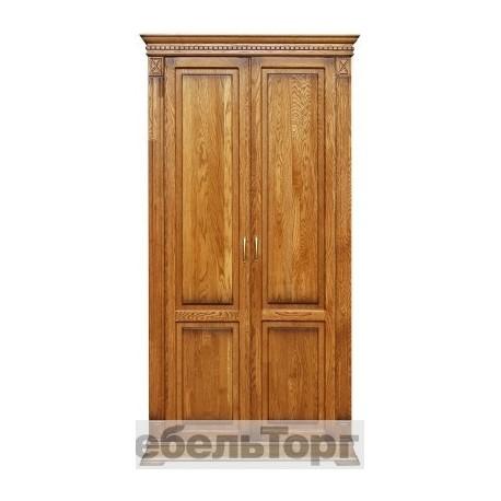 """Шкаф для одежды """"Верди """" П 410.10 дуб"""