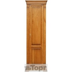 """Шкаф для одежды П 433.15 от набора мебели для прихожей """"Верди Люкс"""" дуб"""