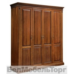Шкаф 4-х дверный «Милана 02\1» (П 294.24) черешня