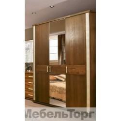 """Шкаф 3-х дверный для одежды """"Тунис""""  П 344.01 венге"""