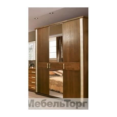 Шкаф 3-х дверный для одежды Тунис П344.01 венге