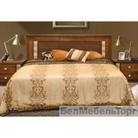 Кровать двойная Тунис П344.05 венге