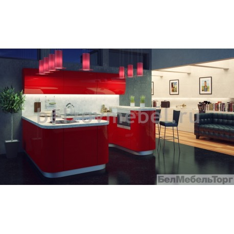Кухня Система RAL 3020 глянец