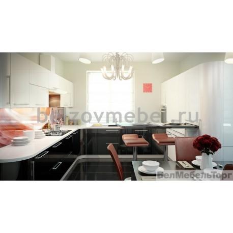 Кухня Система RAL 9016/RAL 9017 глянец