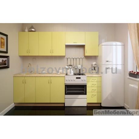 Кухня Пост Лимонный Матовый