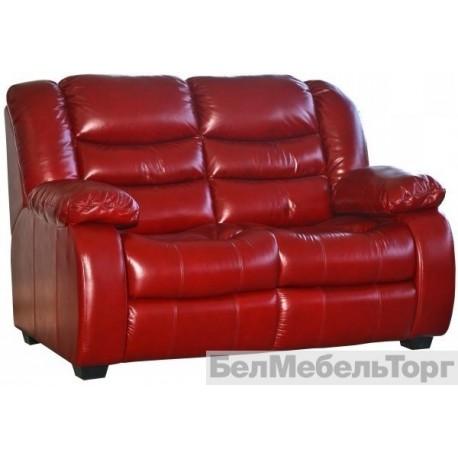 Двухместный кожаный диван Манчестер 1