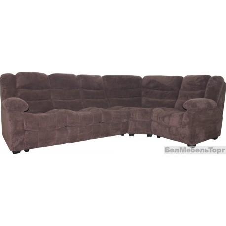 Угловой тканевый диван Манчестер 1