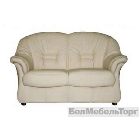 Двухместный комбинированный диван Омега