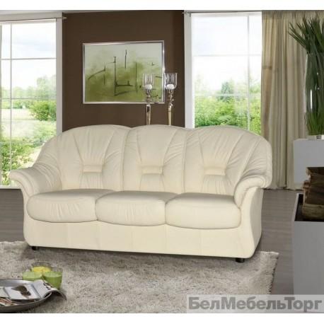 Трехместный комбинированный диван Омега