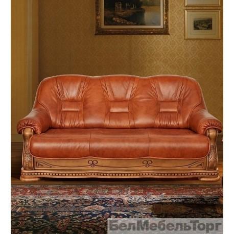 Трёхместный комбинированный диван Консул 23