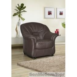 """Кожаное кресло """"Омега"""""""