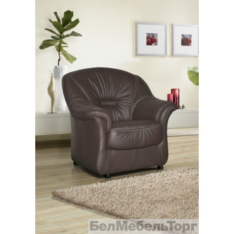 Кресло кожаное Омега