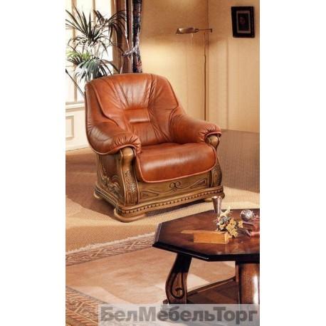 Кресло кожаное Консул 23