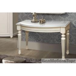 """Стол """"Валенсия"""" туалетный П 254.81 античная темпера с серебром"""