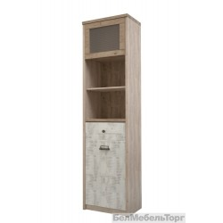 Шкаф с витриной Diesel 1V1D1S2N
