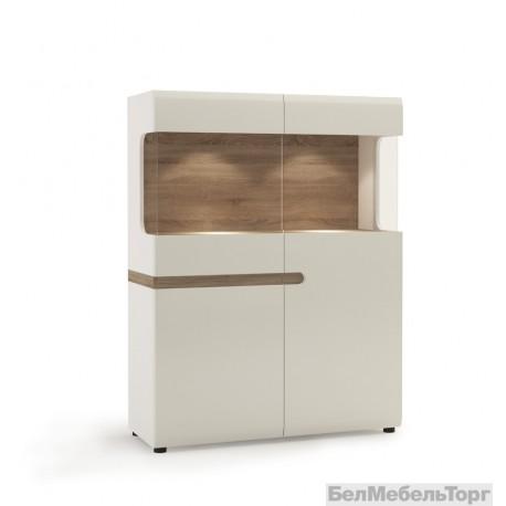 Шкаф с витриной Линате 3D-1S / TYP 33