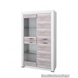 Шкаф-витрина Оливия 2V2D
