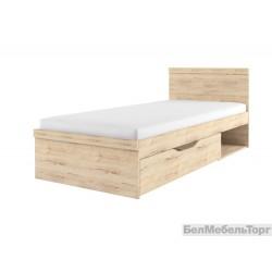 Кровать Оскар 90 с ящиком