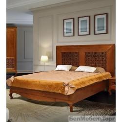 Кровать двойная «Видана 1600» (П 426.02-1) коньяк