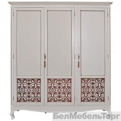 Шкаф 3-х дверный «Видана» (П 426.01) светлый ром